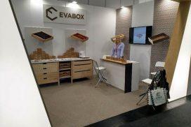 Evabox stalčiai parodoje