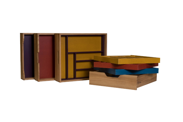 EVABOX in colors drawers