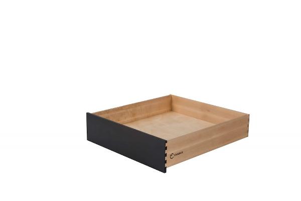 Compact juodas stalčius
