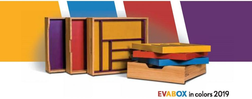 Evabox in colors 2019